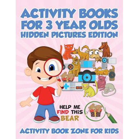 Activity Books for 3 Year Olds Hidden Pictures Edition](3 Year Old Gift Ideas)