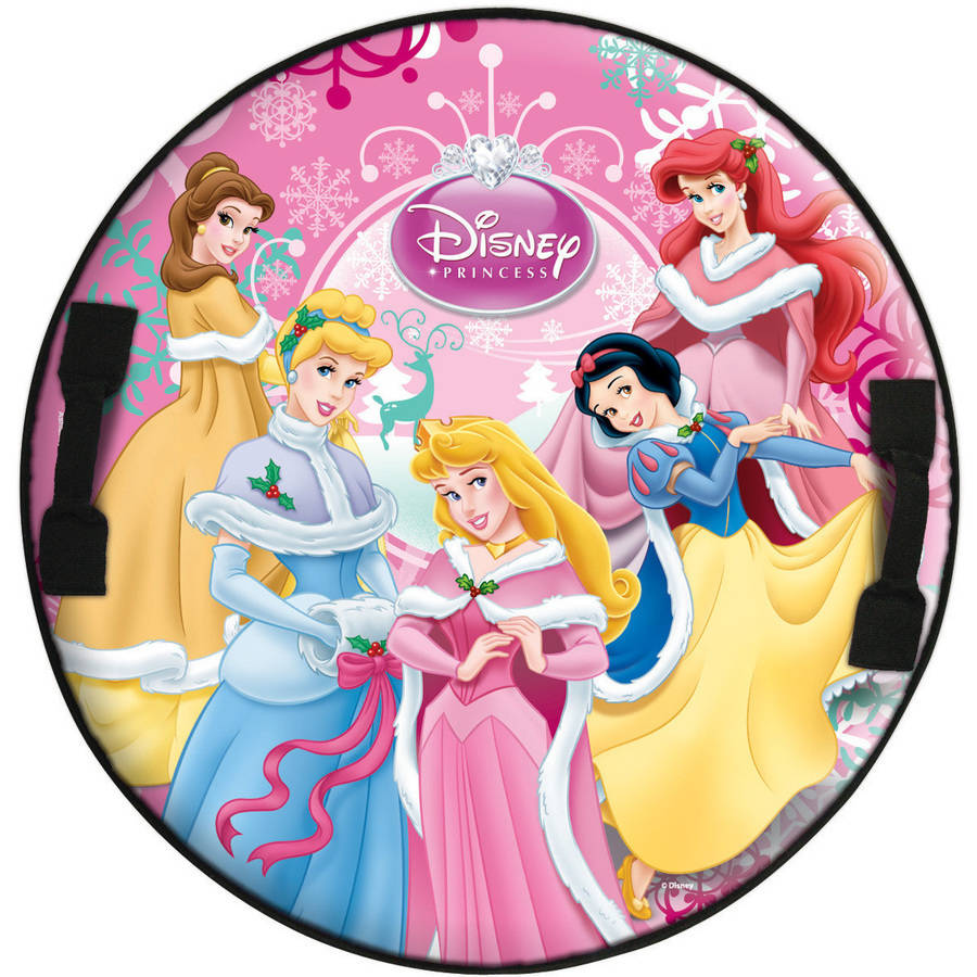 Disney Princess Round Snow Speedster