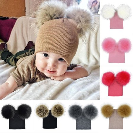 c9e37c2419c4 Emmababy - Infant Toddler Baby Boy Girl Warm Winter Wool Knit Beanie ...