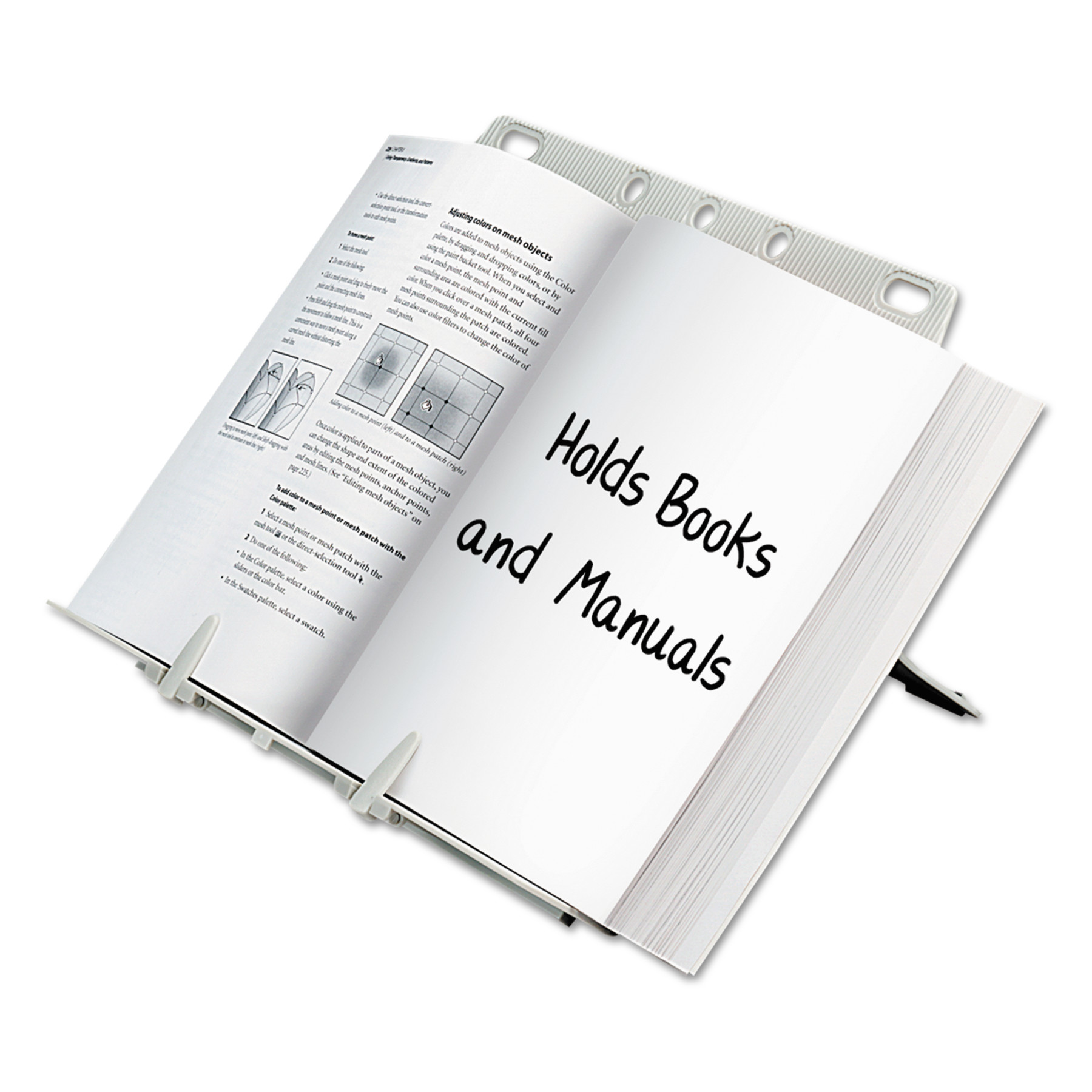 Fellowes Booklift Copyholder Letter, Platinum by FELLOWES MFG. CO.