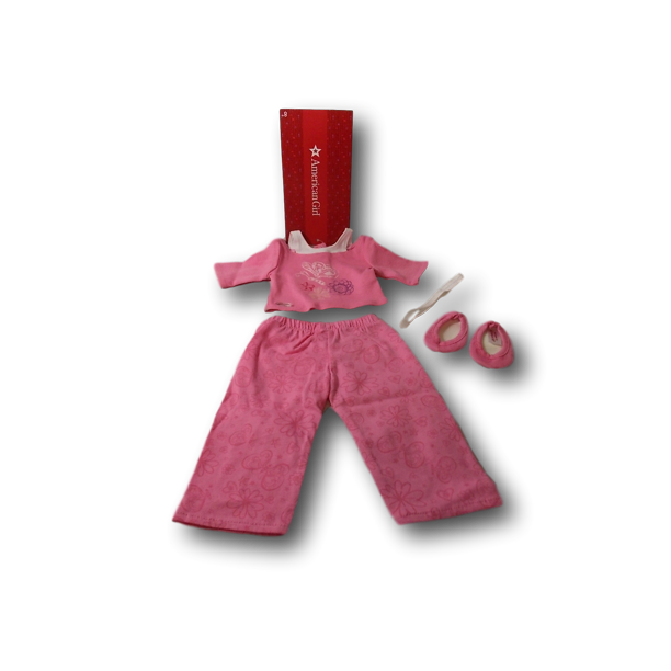 American Girl Truly Me Pink Pajamas In Bag For 18 Dolls Doll Not Included Walmart Com Walmart Com
