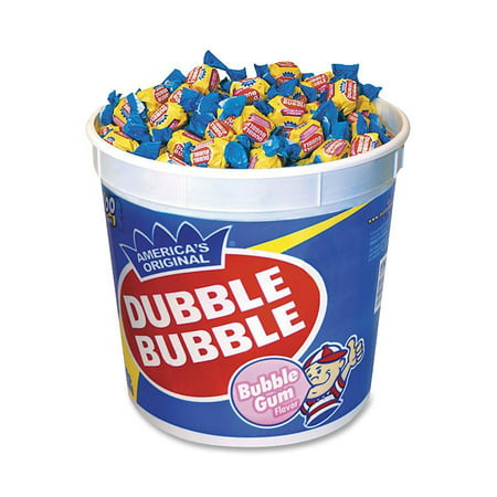 Dubble Bubble Gum, 300 Pieces - Carousel Bubble Gum Machine