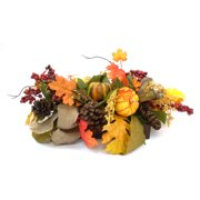 Green Pumpkin Mixed Harvest Centerpiece