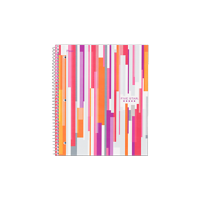 Five Star Style 1 Sub. Notebook, Berry