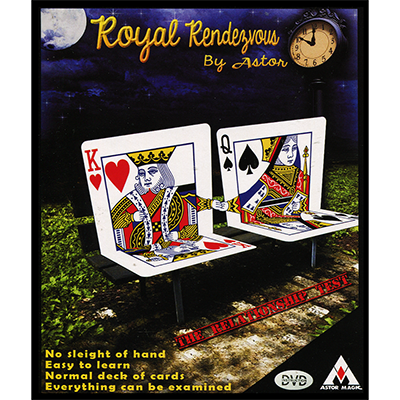 Royal Rendezvous by Astor Magic- Trick for $<!---->
