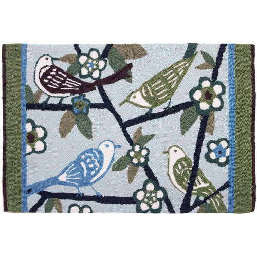 Homefires The Gathering Novelty Rug