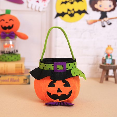 Halloween Store Coupon (Siaonvr Halloween Kids Doll Candy Sweet Jar Box Children Storage Cans Party House)
