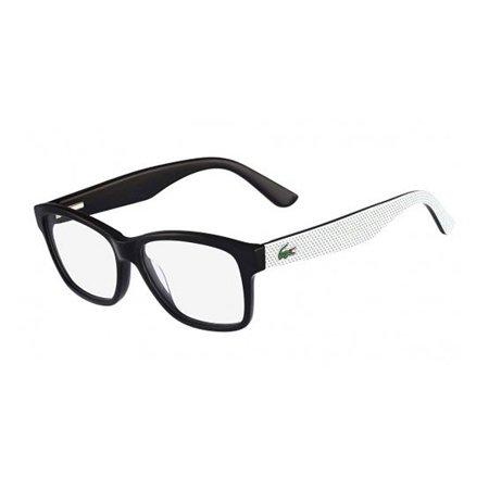Lacoste Womens Eyeglasses L2709-001 Black White Square Full Rim ...