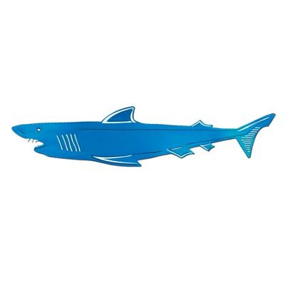 Foil Shark Silhouette Party Accessory (1 Count) - image 1 of 2