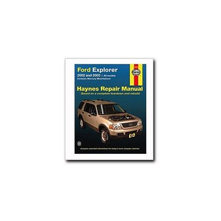 Ford Explorer   Mercury Mountaineer Haynes Repair Manual  2002 2010