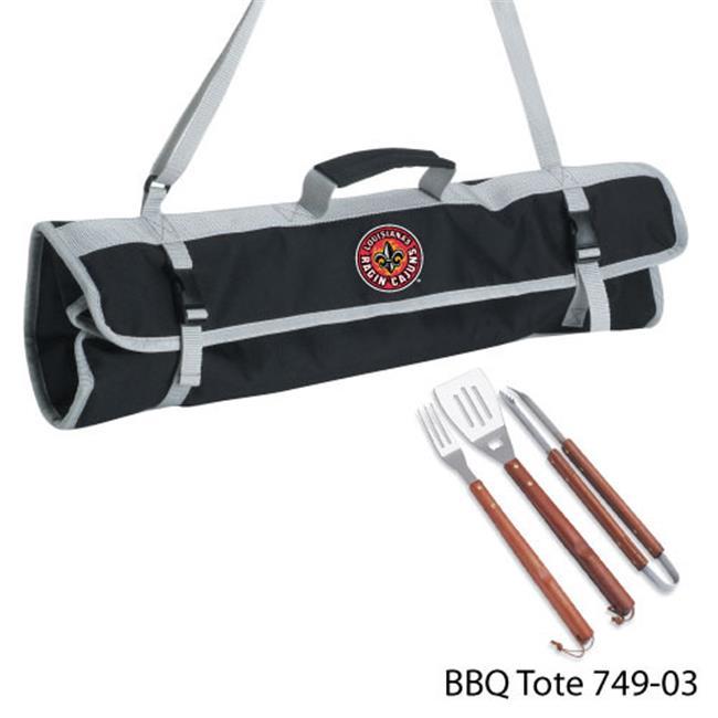 DDI 1481332 Louisiana University Lafayette 3 Piece BBQ Tote Case Of 8