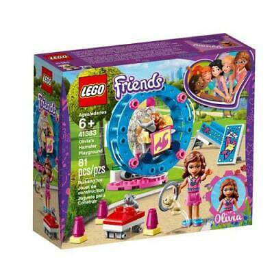 LEGO 41383 Friends Olivia Hamster Playground