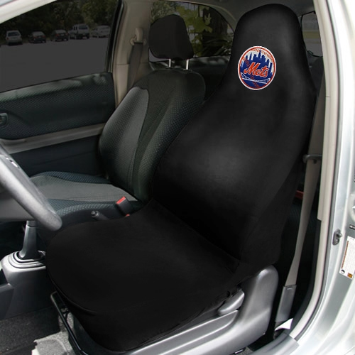 New York Mets Car Seat Cover - Black - No Size