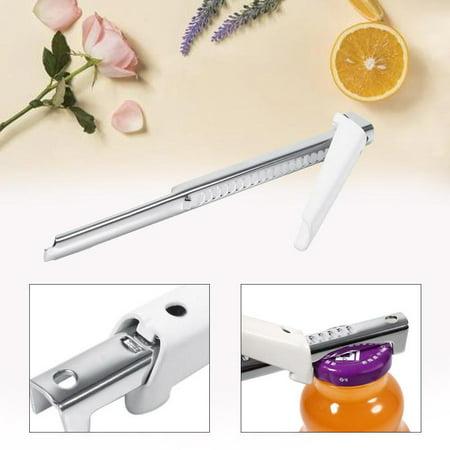 Garosa Ouvre-bouteille ouvre-porte, outil de cuisine manuel professionnel réglable en acier inoxydable pratique - image 5 de 11