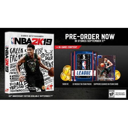 2K NBA 2K19 (Xbox One) - image 1 of 2