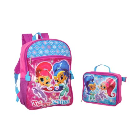 Twin Shine Backpack with Lunchbox - Backpack With Lunchbox
