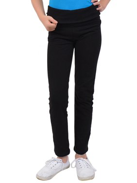 cfd1773d843 Product Image Teamwear Foldover Trailblazer Leggings - Small Child (6)    Black. Stretch is Comfort