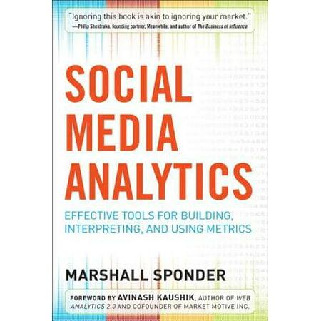 Social Media Analytics: Effective Tools for Building, Interpreting, and Using Metrics -