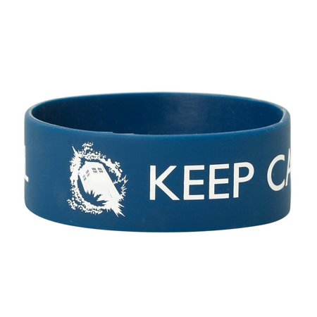 Underground Toys UGT-DW02129-C Doctor Who Rubber Wristband: Keep Calm and Time Travel (Wristband In Spanish)