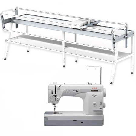 Janome 1600P-QC and Grace GQ Frame Quilter Combo - Walmart.com