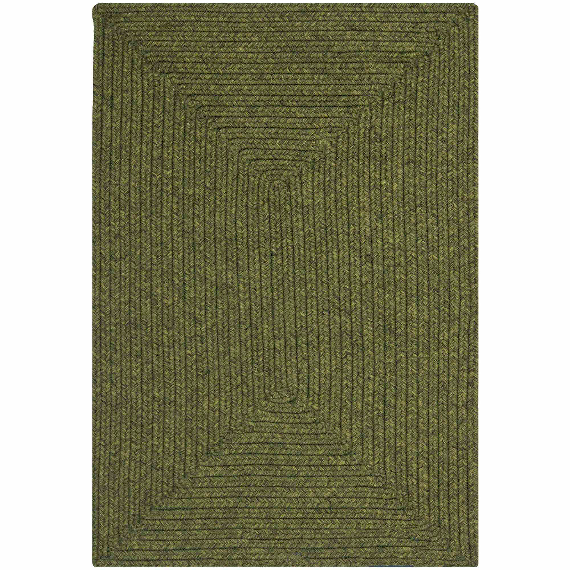 Safavieh Braided Luis Polypropylene Area Rug, Green