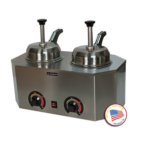Paragon International Pro-Deluxe Dual Warmer with Backside Heated Pumps