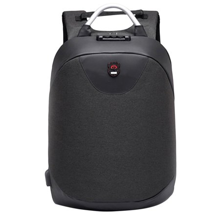 15.6 Inch Laptop Backpack Bag Anti-theft Men Backpack USB Charging  Waterproof Travel Rucksack Knapsack a7570211fa2b0