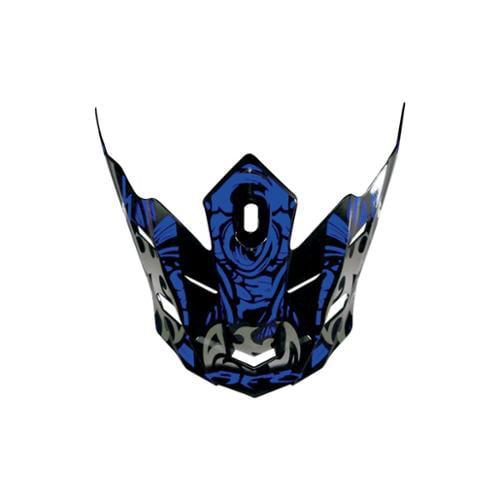 AFX FX-17Y Shade Youth MX Peak - 2011 Models Blue