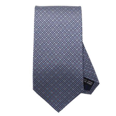 Salvatore Ferragamo Men's Navy Gancini Neck Tie Salvatore Ferragamo Men's Navy Gancini Neck Tie