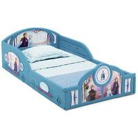 Disney Frozen II Plastic Sleep and Play Toddler Bed by Delta Children