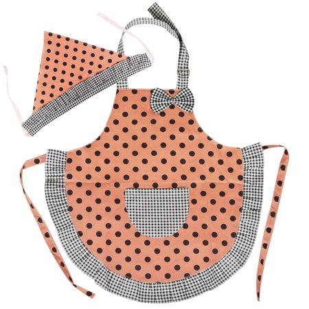 Wrapables® Cutie Little Helper Kids Matching Apron & Hat