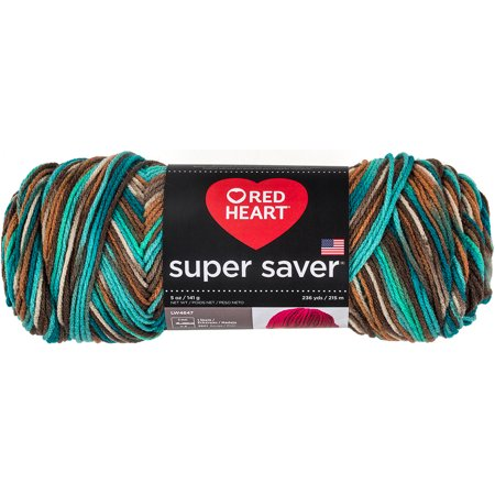 Red Heart Super Saver Reef Yarn, 236 Yd.
