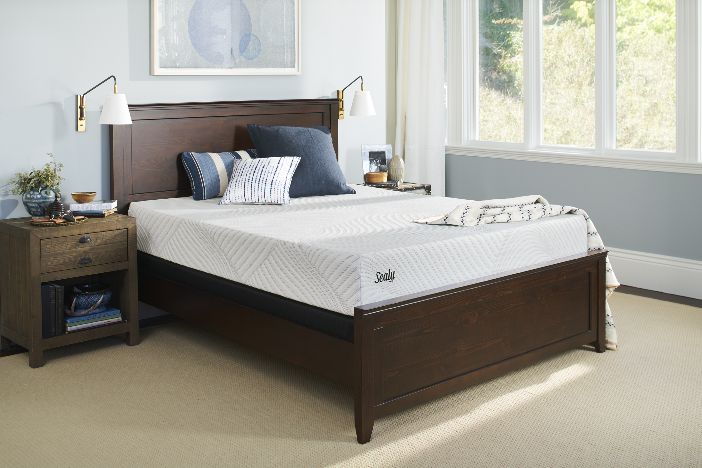 """Sealy Conform Essentials 9"""" Firm Mattress by Sealy"""