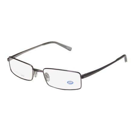 New Boots 09m1 Mens/Womens Designer Full-Rim Mauve Classic Shape Masculine Design Hip Frame Demo Lenses 53-18-140 Spring Hinges Eyeglasses/Eye Glasses - Frame Mauve Lenses