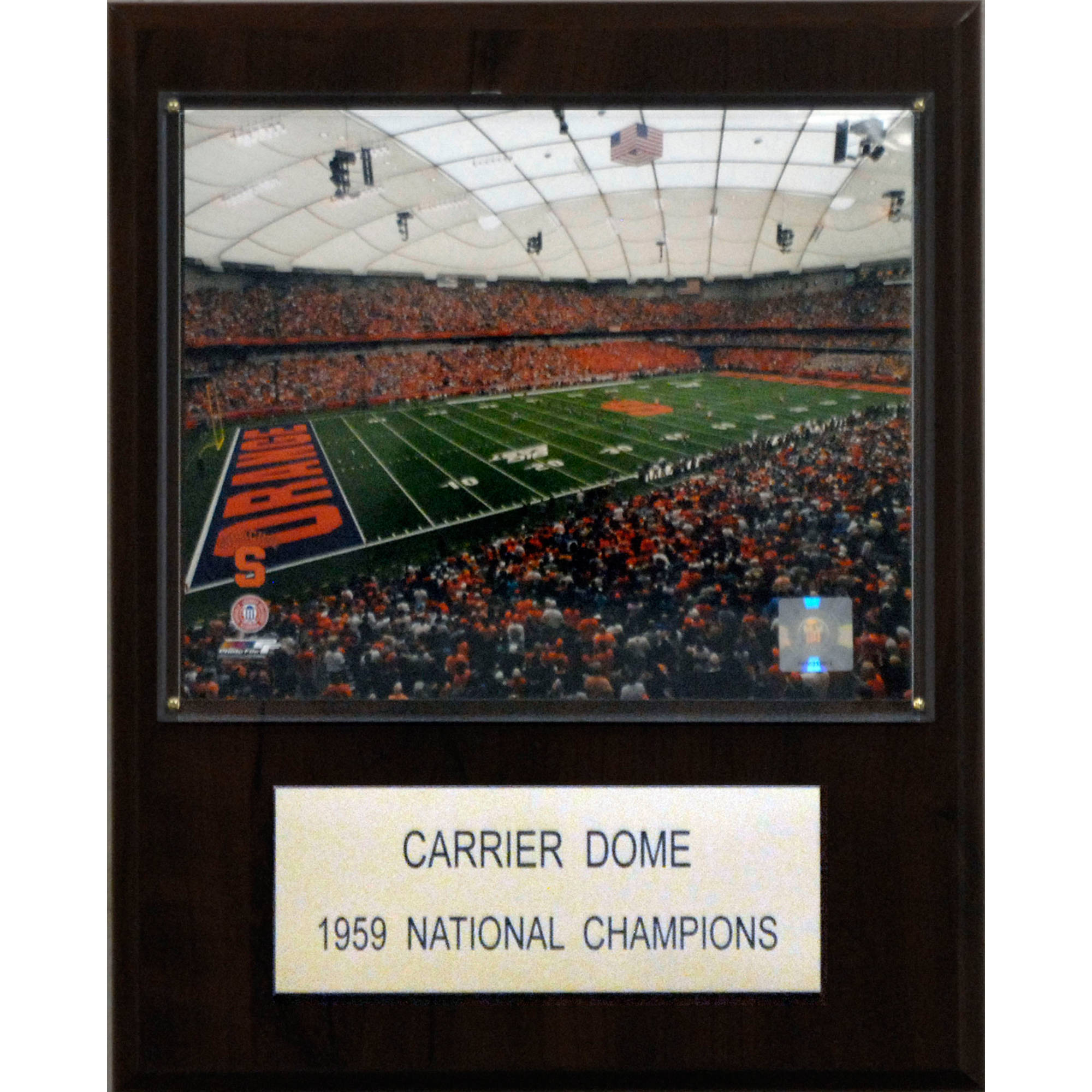 C&I Collectables NCAA Football 12x15 Carrier Dome Stadium Plaque