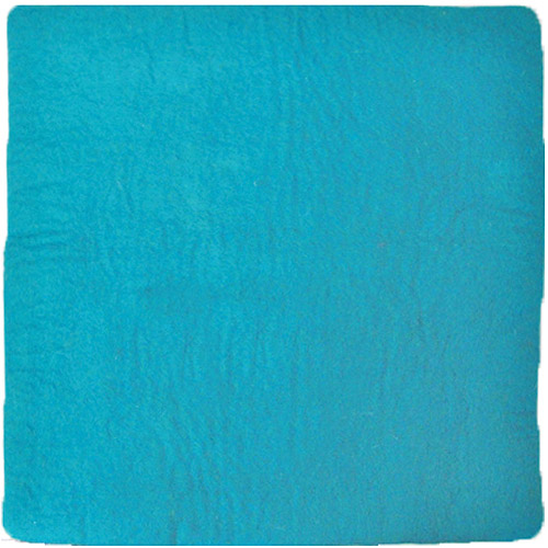 """Dimensions Feltworks Pillow Cover, 15"""" x .5"""" x 15"""", Turquoise"""