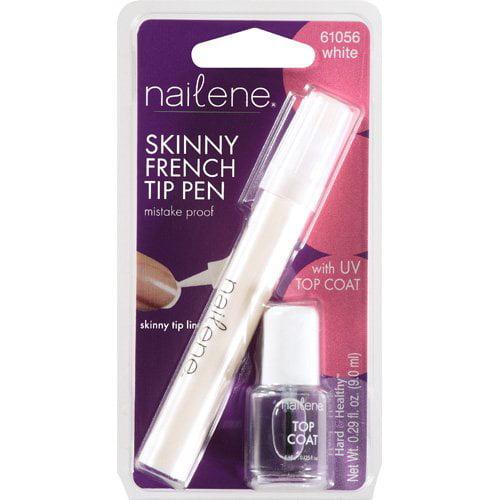 Nailene Skinny French Tip White 61056 Pen, .29 Oz