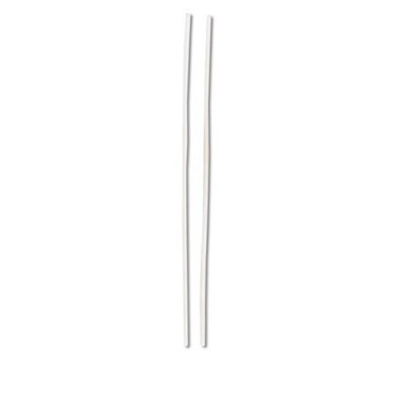 - Club Pack of 480 Classic & Elegant Dove White Decorative Long and Thin Party Candles 8