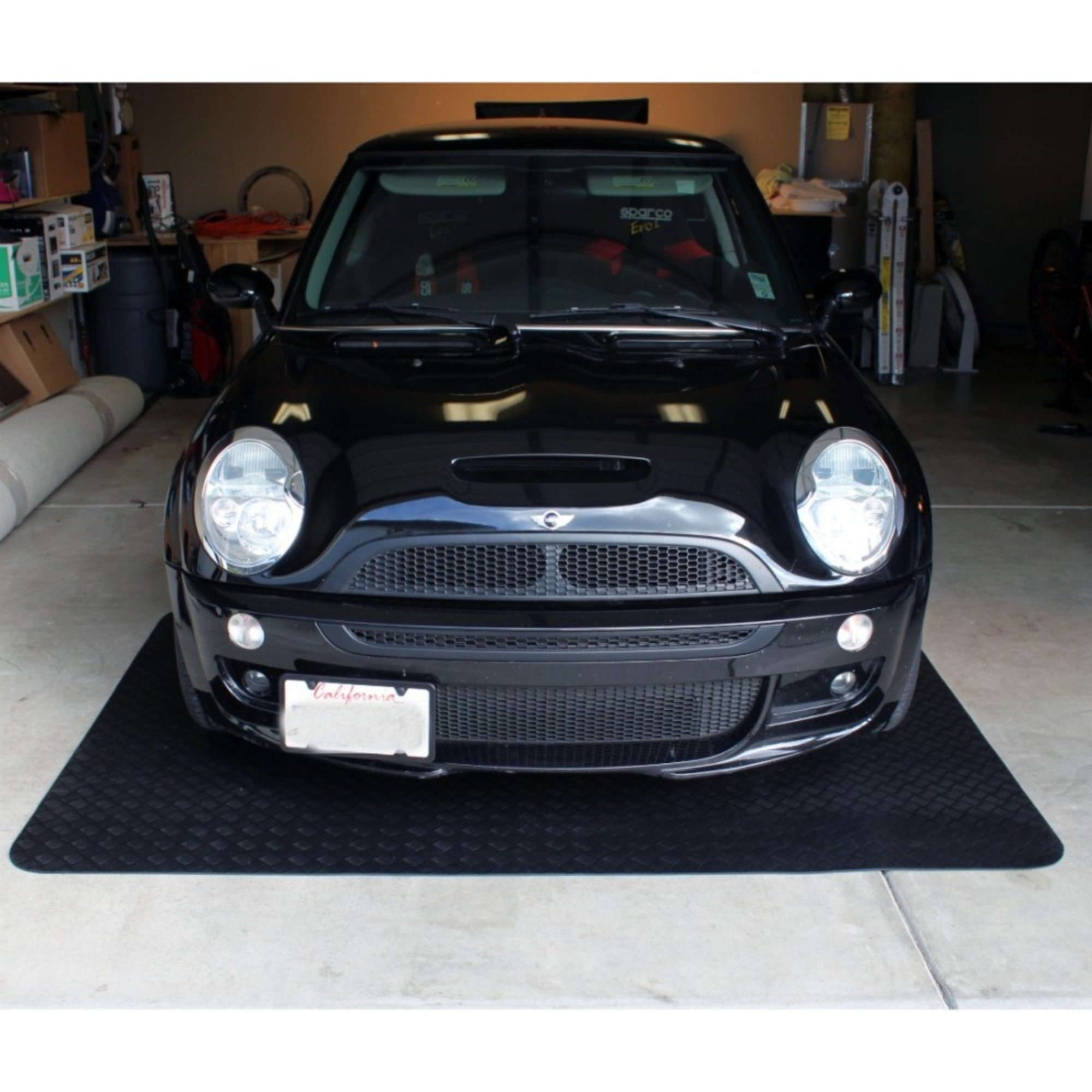 Mats Inc. Garage Floor Protection Utility Mat, Black, 5' x 7'