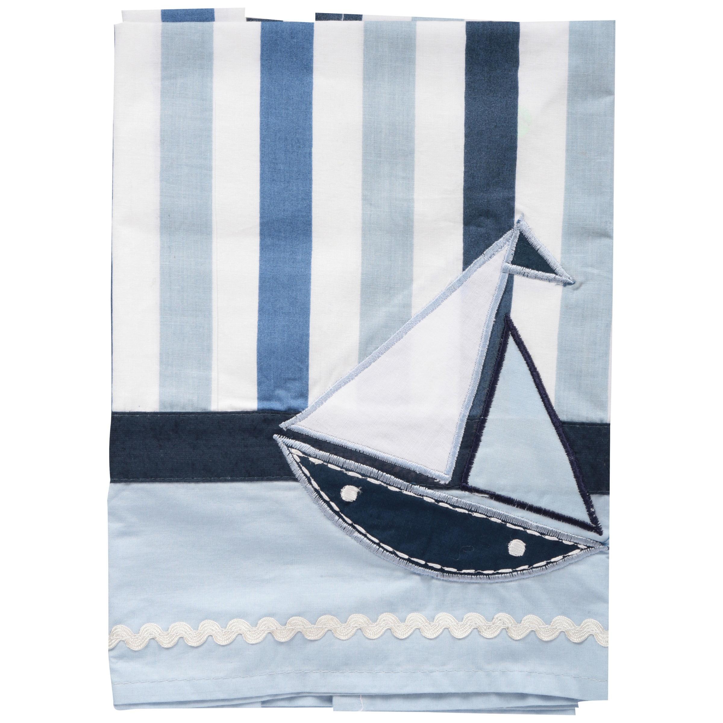 Bacati Window Valance Little Sailor, 1.0 CT by Bacati