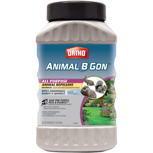 Ortho Animal B Gon All Purpose Animal Repellent Granules, 2 lbs