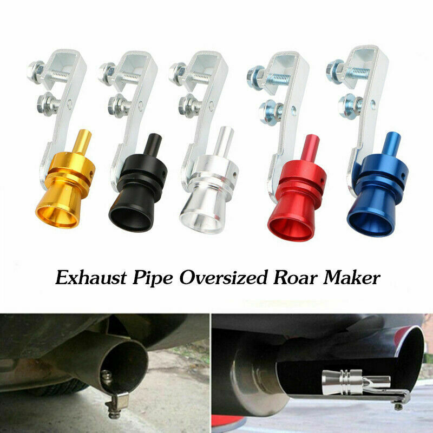 Exhaust Pipe Oversize Roar Maker Car Sound Turbo Whistles Simulator Whistles