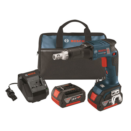 Bosch SGH182-01 Cordless Screwgun Kit,18.0V,Li-Ion G9753423