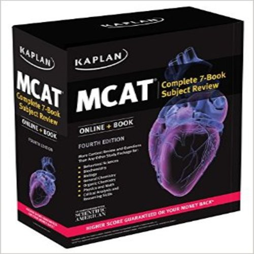MCAT Complete 7-Book Subject Review 2018-2019: Online + Book ...