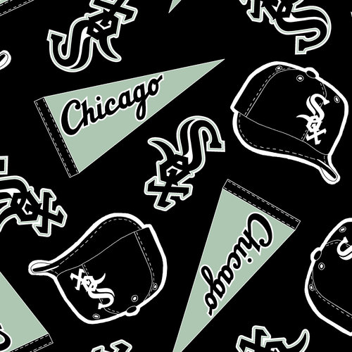 MLB Chicago White Sox Fleece Fabric