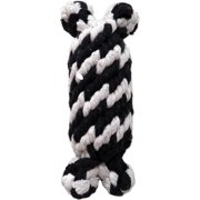 Super Scooch Braided Rope Man With Squeaker Dog Toy, 6.5""