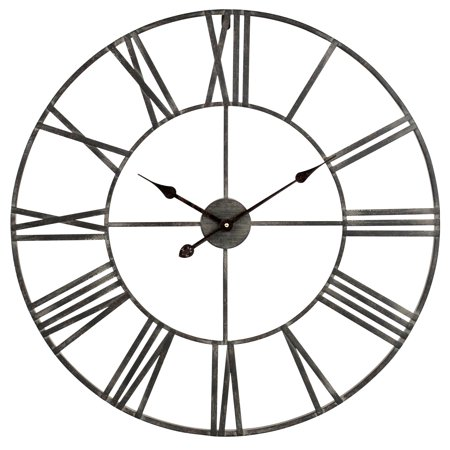 Solange Round Metal Wall Clock ()