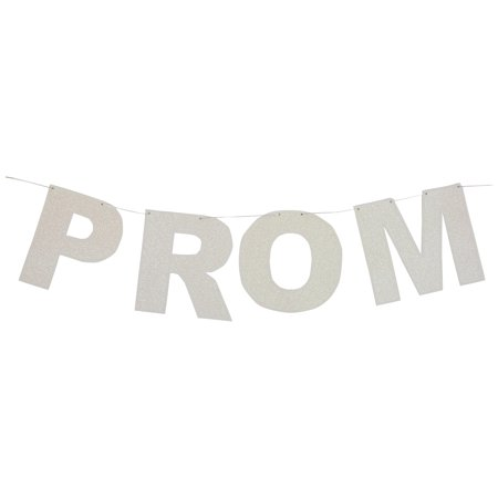 Glittered Prom Night Streamer, New 8-1/2-Inch by 8-Feet - image 1 de 2