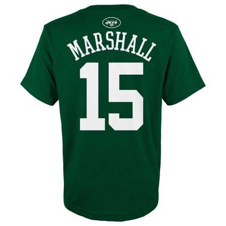 Brandon Marshall Youth Jersey - YOUTH NFL Brandon Marshall Name & Number Short Sleeve Tee, Green