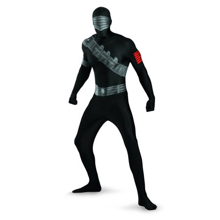 Disguise Snake Eyes Deluxe Bodysuit Costume](Snake Eyes Costumes For Kids)
